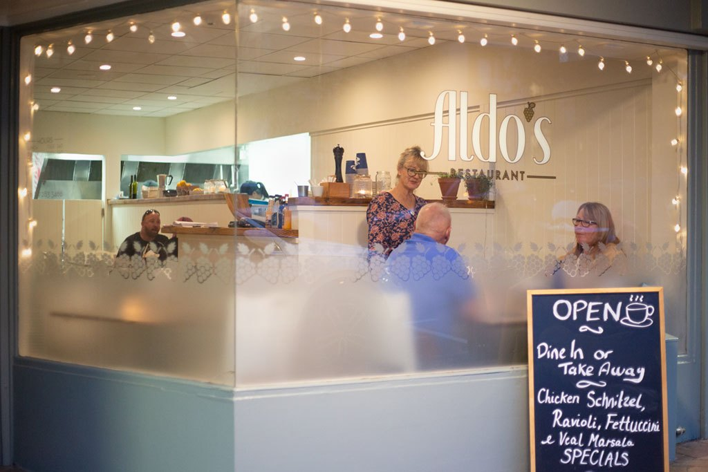Our cosy and welcoming Aldo's restaurant